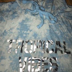 Forever 21 Swim - 3 piece forever 21 tye dye tropical vibes swim set